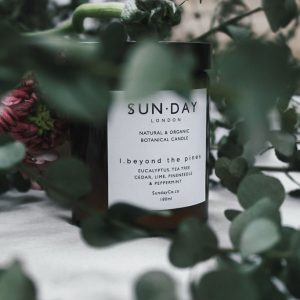 Sunday of London 'Beyond The Pines' Natural Botanical Candle