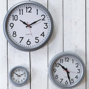 Indoor Smithfield Powder Coated Steel Clock – SFCL03