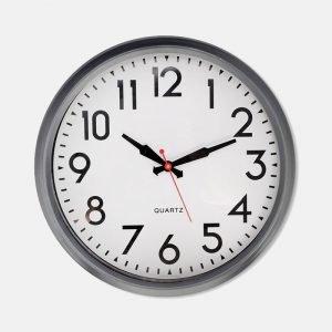 Indoor Smithfield Powder Coated Steel Clock - SFCL03
