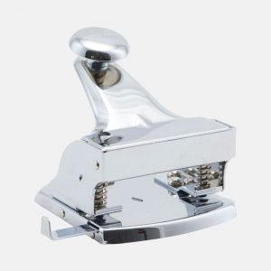Monograph Large Metal Silver Office Hole Punch - MGTP011
