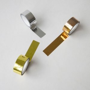 Monograph Metallic Gold Silver And Copper Tape – MGKL090