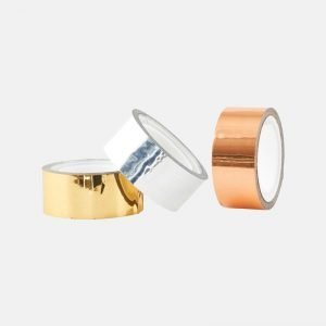 Monograph Metallic Gold Silver And Copper Tape - MGKL090