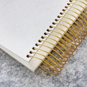 Monograph Square Brass Spiral Noteblock – MGSJ040