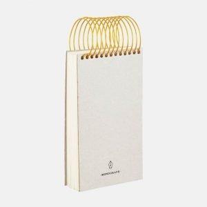 Monograph Tall Brass Spiral Noteblock - MGSJ041