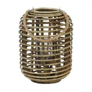Rattan Natural Hurricane Vase