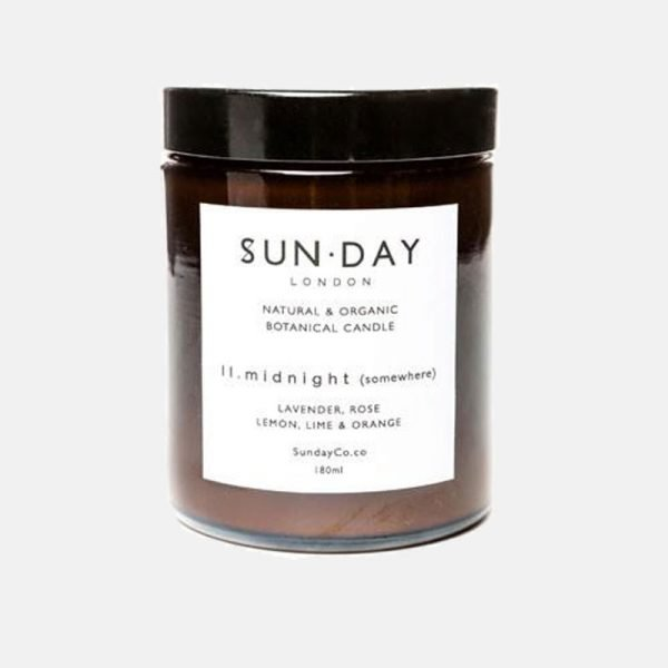 Sunday of London 'Midnight' Somewhere Natural Botanical Candle