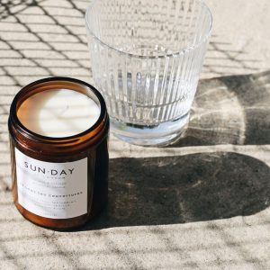 Sunday of London Rooftop Garden Natural Botanical Candle