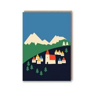 Anna Kovecses Mountains Card