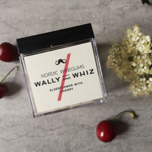 wally and whizz elderflower and cherry nordic wine gums