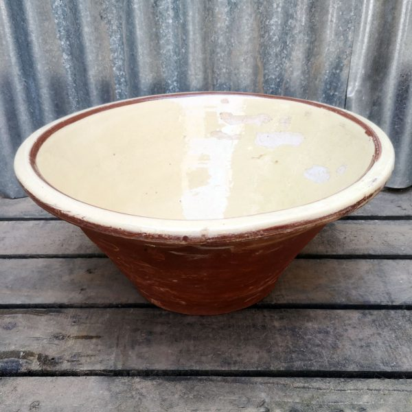 Vintage French pancheon Bowl