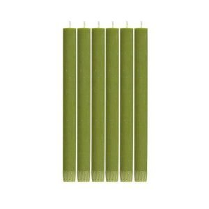 Olive Green Eco Dinner Candle