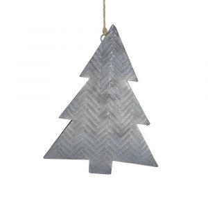 Hanging Metal Christmas Tree Decoration