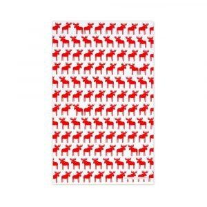 Red Moose Tea Towel