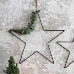 Large Steel Christmas Star