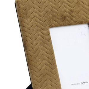 Brown Velvet Picture Frame