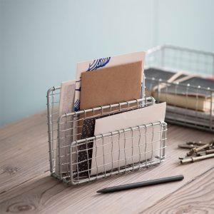 Desktop Wire Letter Rack