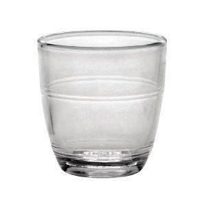 Duralex Gigogne Tumbler Glasses x4
