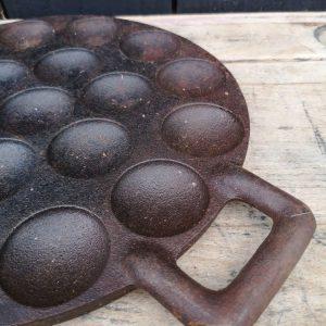 Koopmans Cast Iron Patisse Poffertjes Pan
