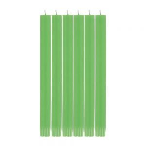 Grass Green Eco Dinner Candle