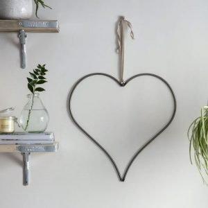 Steel Hanging Heart