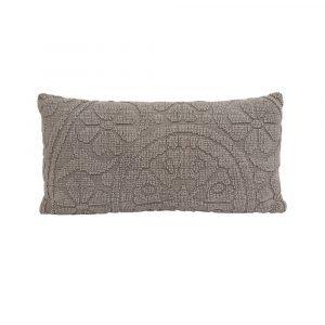 Stonewash Embossed Pillow 60 x 30cm