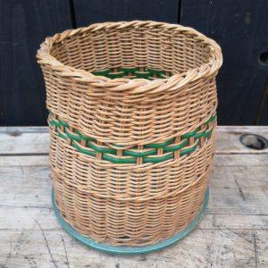 Vintage Wicker Plant Pot Holder