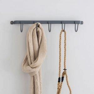 Large Cloakroom Hook Rail