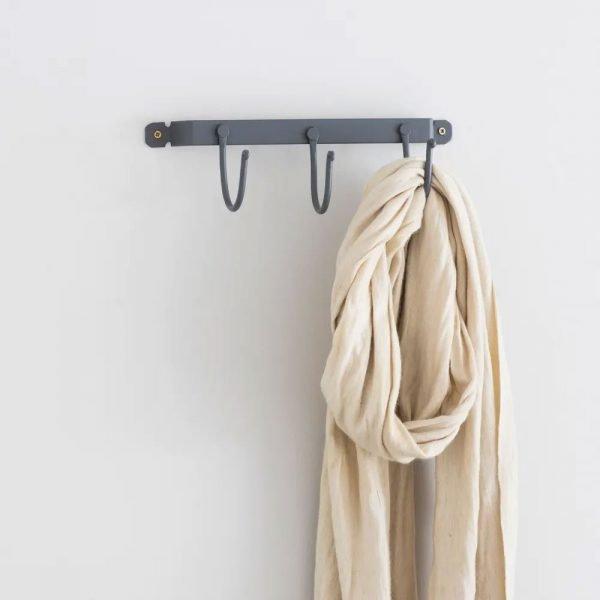 Small Cloakroom Hook Rail