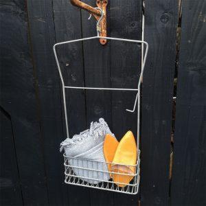 Vintage Gym Hanging Storage Basket
