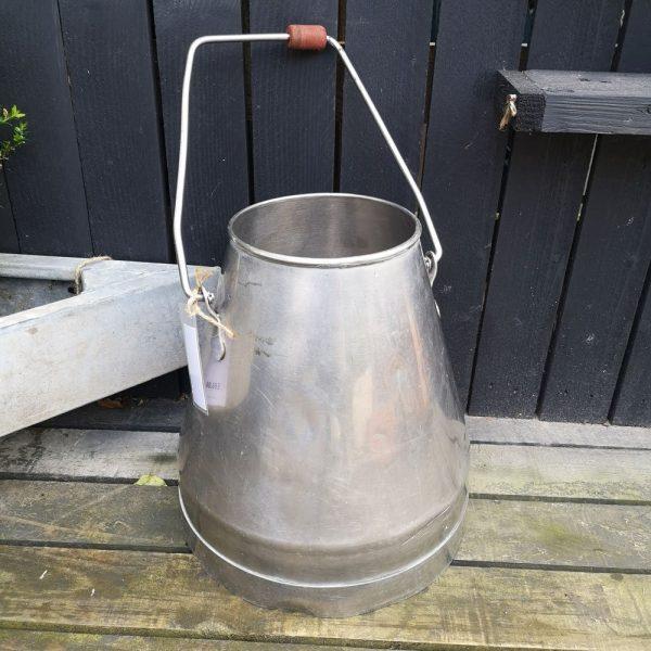 Vintage Stainless Steel Milk Churn