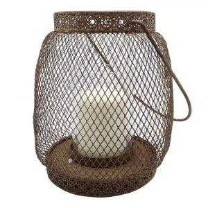 Antique Rust Hanging Lantern