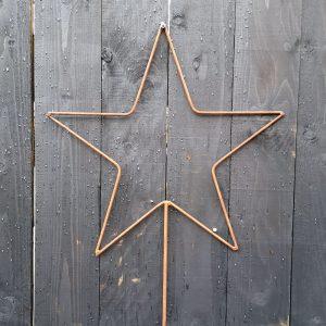Rustic Star Stake