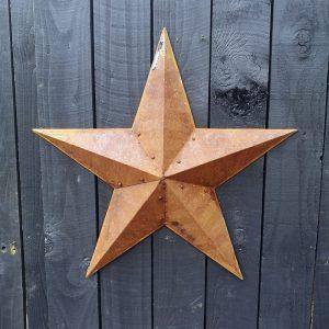 Large Vintage Metal Barn Star