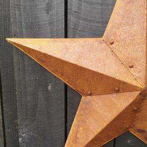 Large-Vintage-Metal-Barn-Star-Close