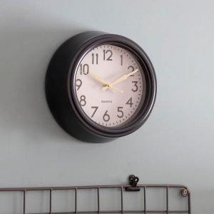 Powder Coated Steel Carbon Clock