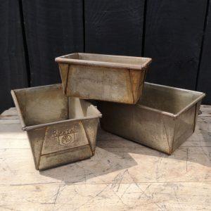 Vintage Bread Tins