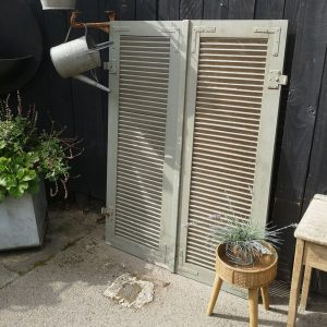French Wooden Window Shutters