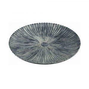 Round Textured Serving Platter